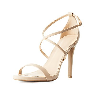 Strappy Three-Piece Dress Sandals