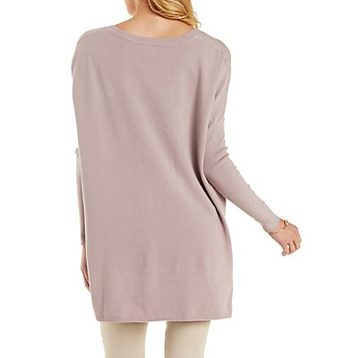 Dropped Shoulder Pullover Sweater