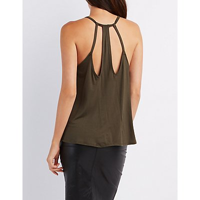 Strappy Caged-Back Tank