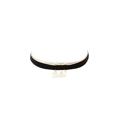 Aries Zodiac Choker Necklaces -3 Pack