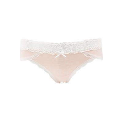 Lace-Trim Hipster Panties