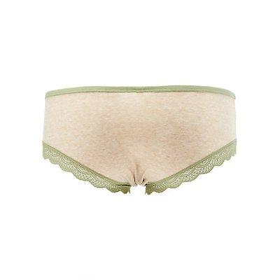 Lace-Trim Boyshort Panties