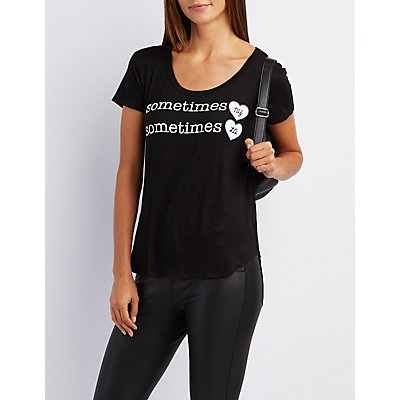 Sometimes Graphic Boyfriend Tee