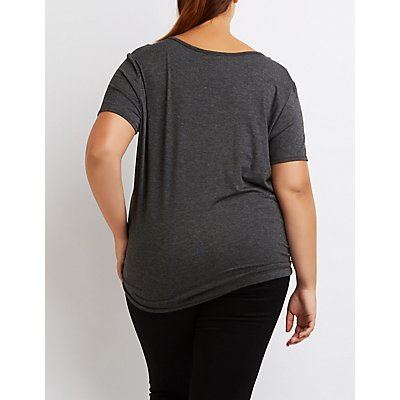 Plus Size Slay All Day Graphic Tee