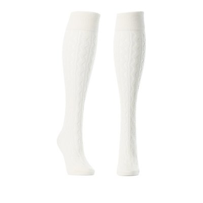 Pointelle Knee-High Socks