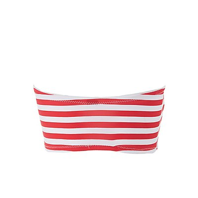 Plus Size Stars & Stripes Bandeau Bra