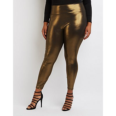 Show Your Smart and Flirty Style with Women's Plus Size Leggings. Women's plus size leggings provide comfort and attractive fashion choices. Create polished casual ensembles right for every season with these fashionable options. Dress them up or down to create .