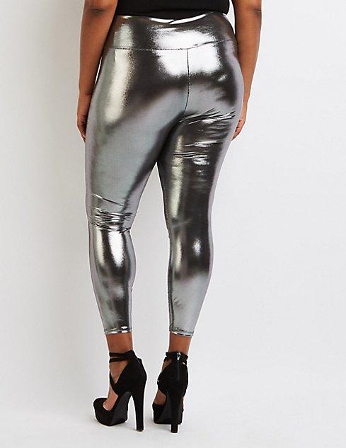 Plus Size Liquid Leggings Hardon Clothes
