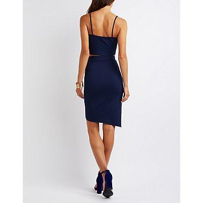 Crop Top & Envelope Skirt Hook-Up