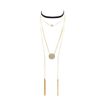 Layering & Choker Necklaces - 2 Pack