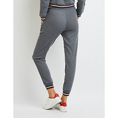 Varsity Striped Jogger Pants