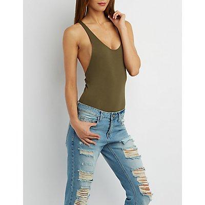 Strappy Backless Bodysuit