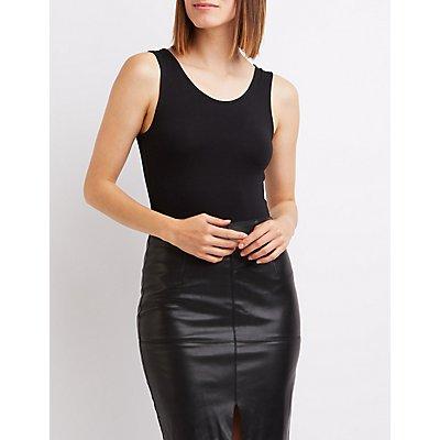Lattice-Back Bodysuit