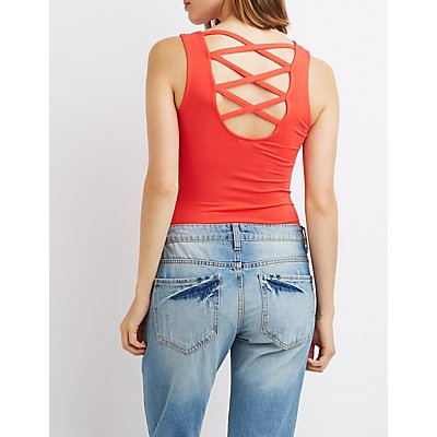 Lattice-Back Bodysuit