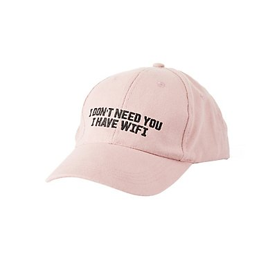 """I Don't Need You"" Baseball Hat"