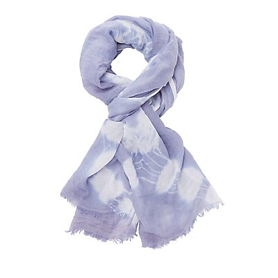 Tie-Dye Oblong Scarf