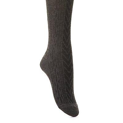 Varsity Stripe Knee-High Socks