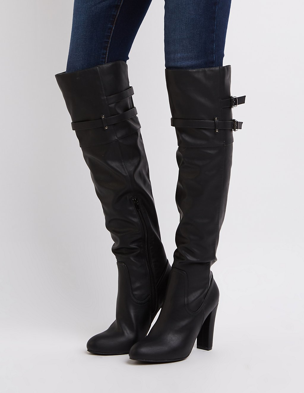 Thigh High Boots & Over the Knee Boots | Charlotte Russe