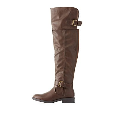 Over-The-Knee Riding Boots