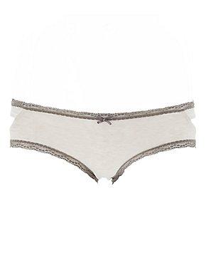 Cut-Out Hipster Panties
