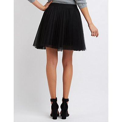 Tulle Full Skater Skirt