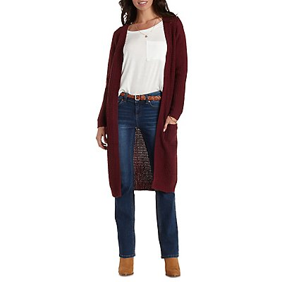 Open Duster Cardigan