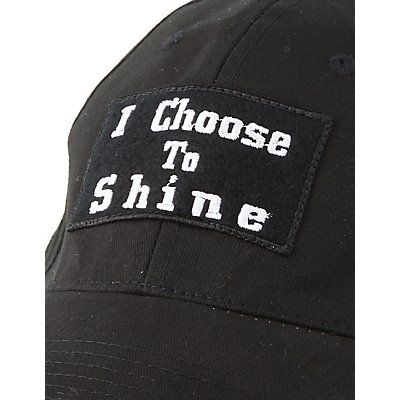 """I Choose To Shine"" Baseball Hat"