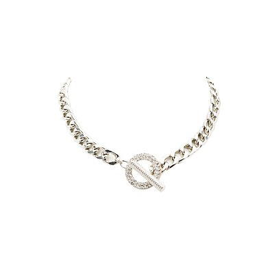 Plus Size Chunky Chainlink Necklace