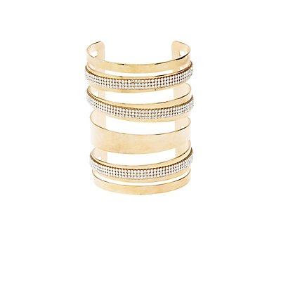 Plus Size Metal Cuff Bracelet