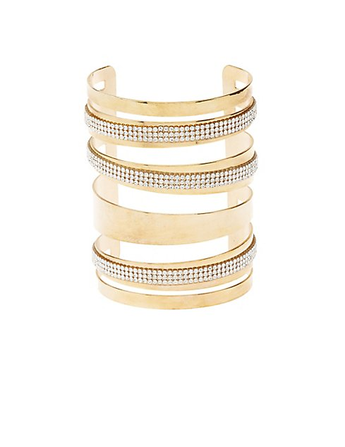 Plus size metal cuff bracelet charlotte russe for Plus size jewelry bracelets