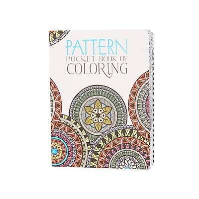 """Pattern"" Pocket Book Of Coloring"