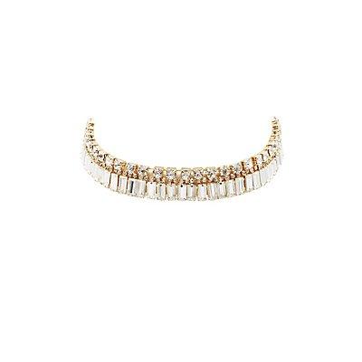 Embellished Statement Choker Necklace