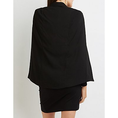 Structured Cape Blazer