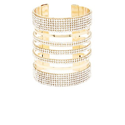 Embellished Cuff Bracelet
