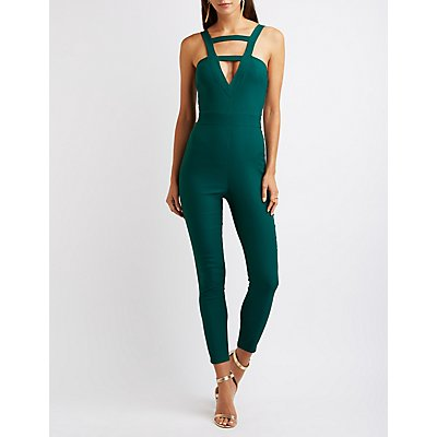 Strappy Caged Jumpsuit