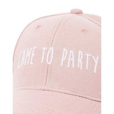 """Came To Party"" Baseball Hat"