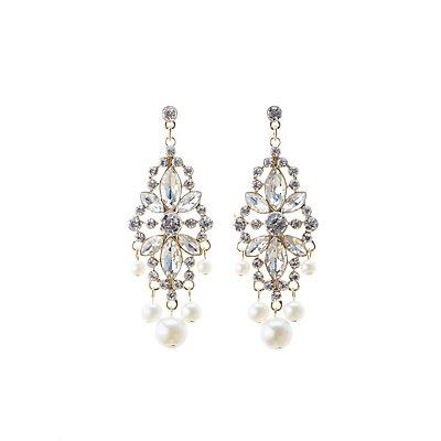 Embellished Drop Earrings