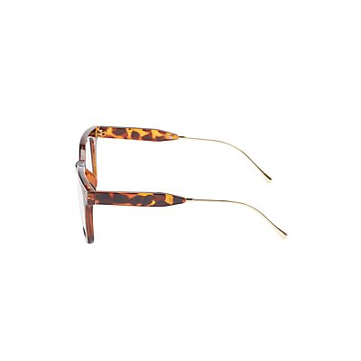 Tortoise Shell Retro Readers