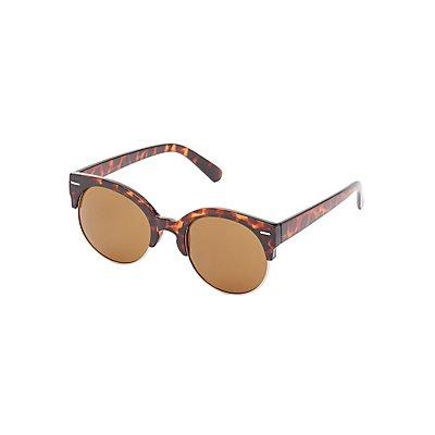 Retro Tortoise Shell Sunglasses