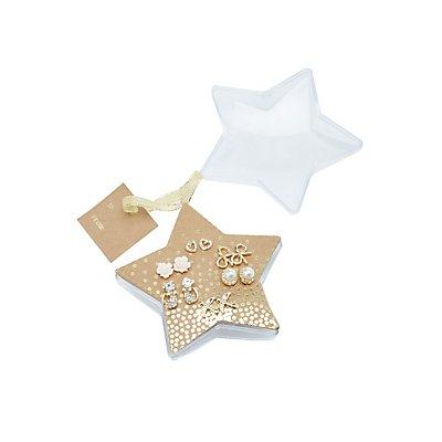 Embellished Stud Earrings Ornament Pack