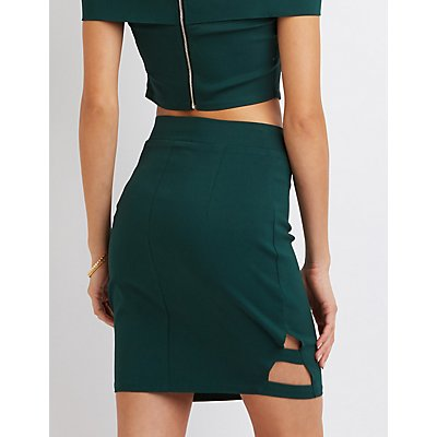 Millenium Caged Pencil Skirt
