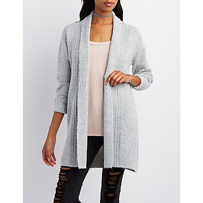 Shawl Collar Longline Cardigan