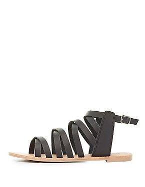 Strappy Gladiator Sandals