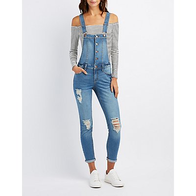Ripped Jeans & Distressed Denim | Charlotte Russe
