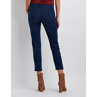 Rewash Embroidered Skinny Jeans