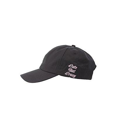 Cute But Crazy Baseball Hat