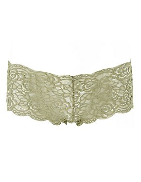 Scalloped Lace Cheeky Panties