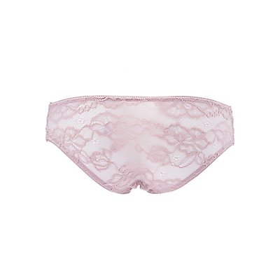 Caged Lace Hipster Panties