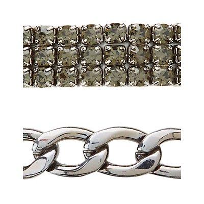 Edgy Layering Bracelets - 4 Pack