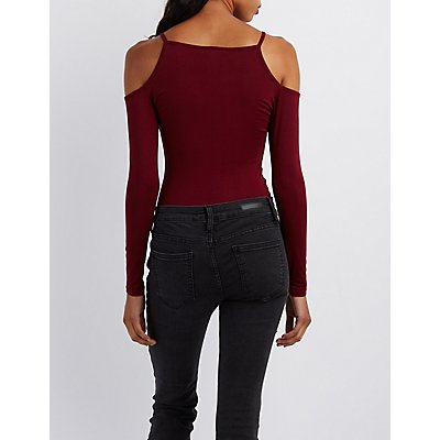 Flawless Cold Shoulder Bodysuit